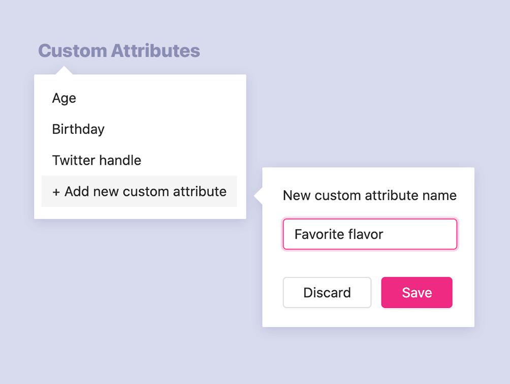 WooCommerce segment - Custom Attributes