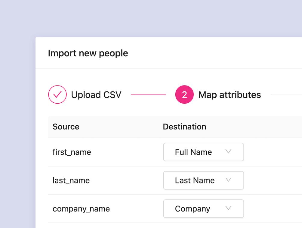 WooCommerce segment - Import Contacts