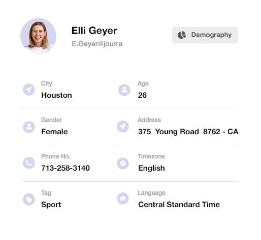 WooCommerce marketing automation - Segmentation based on personal data
