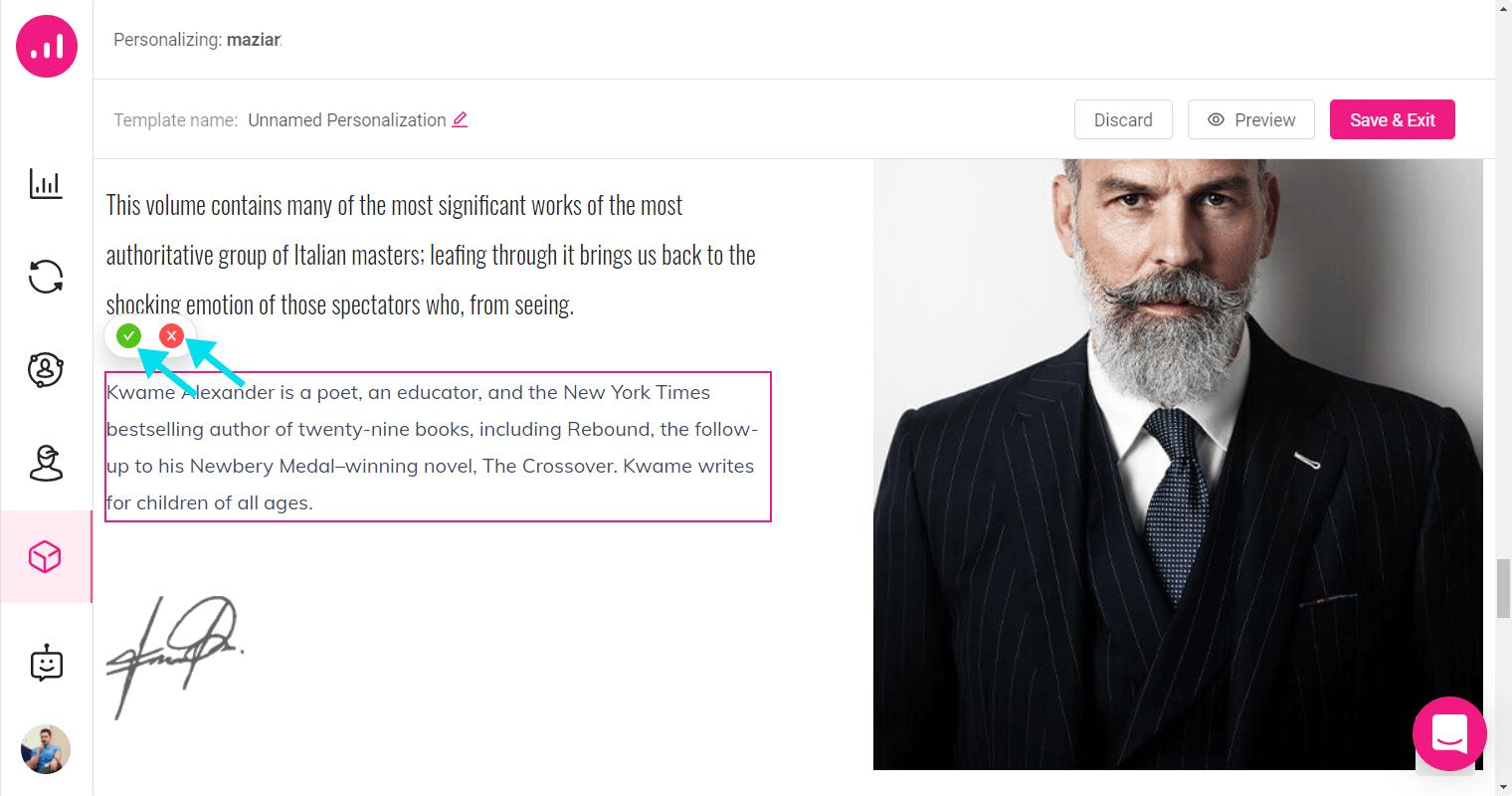 Website Personalizer - Growmatik -