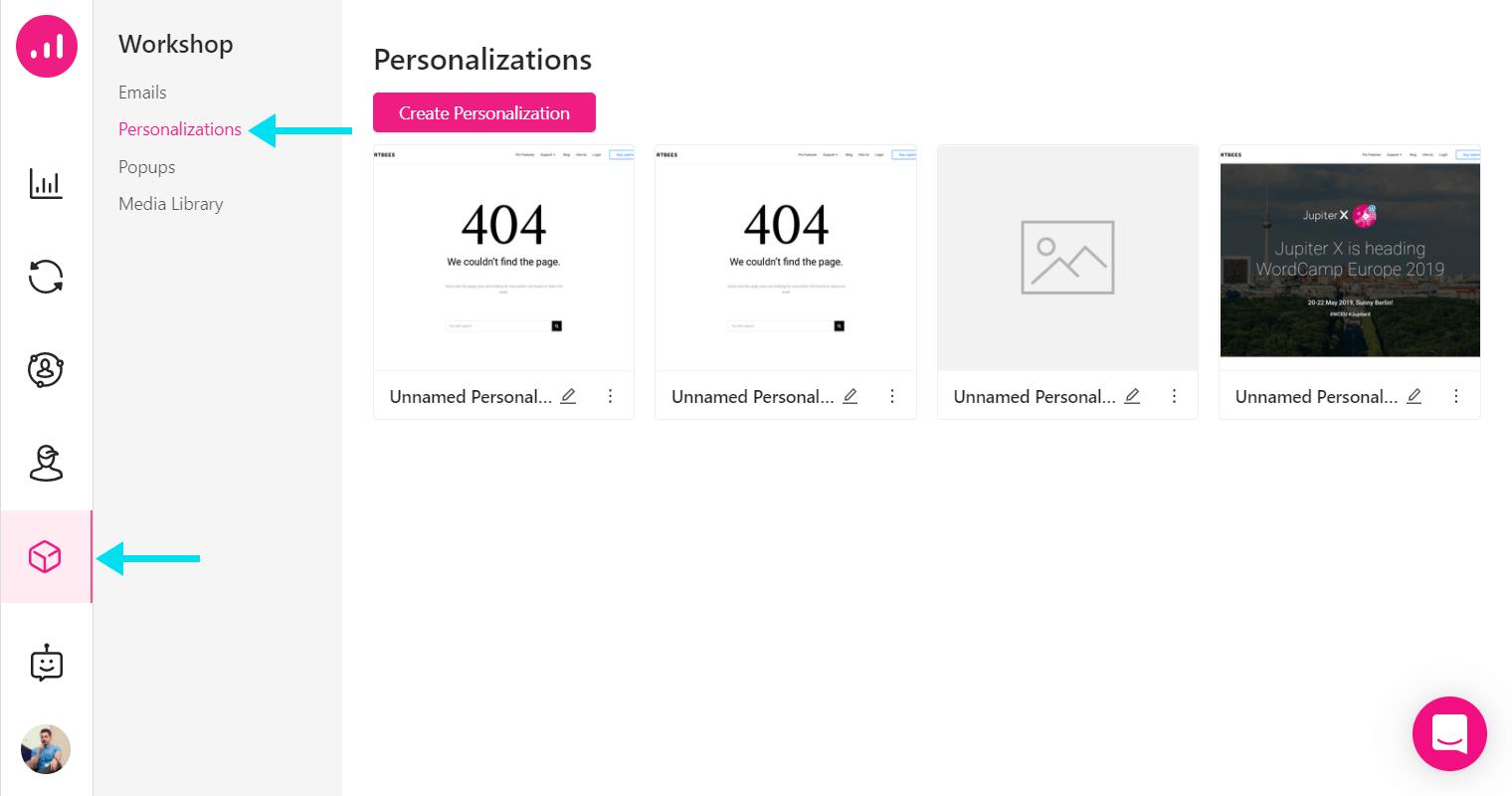 Website Personalizer - Growmatik - tool