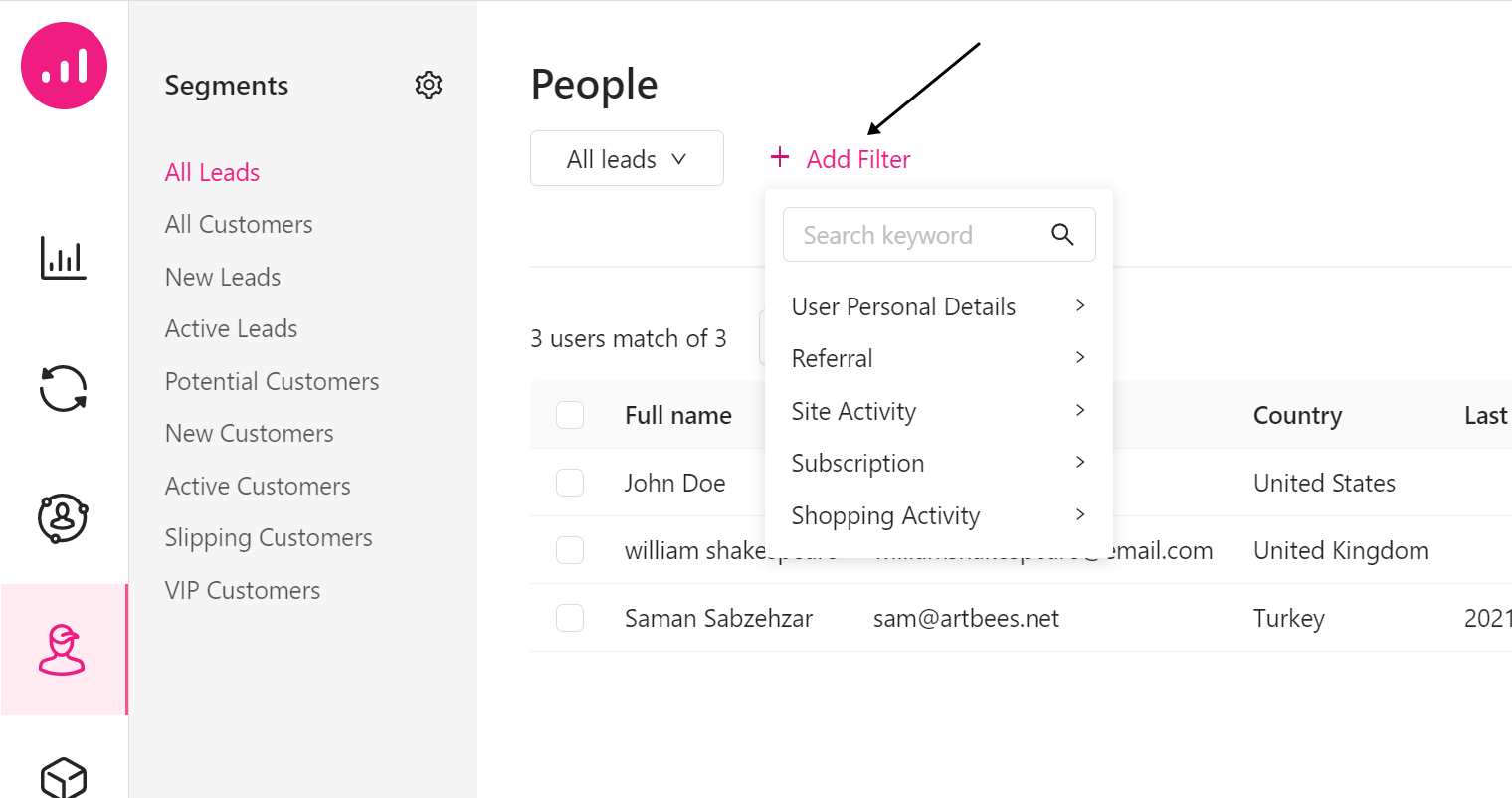 personalization at scale - Growmatik - people