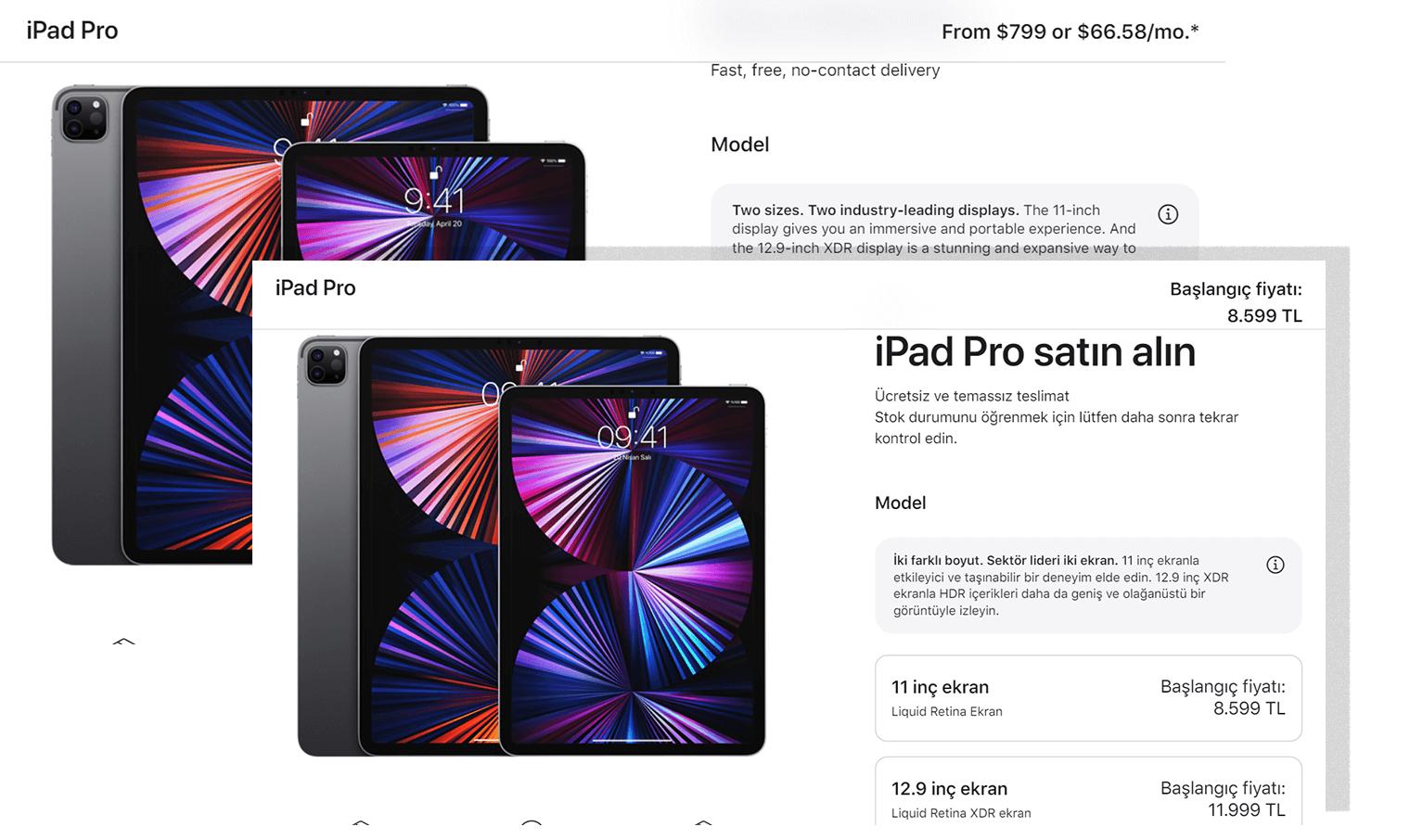 Apple - regional pricing